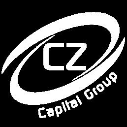 CZ Capital Group White Cropped Logo